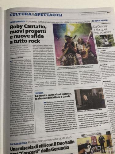 Roby Cantafio nuovi progetti